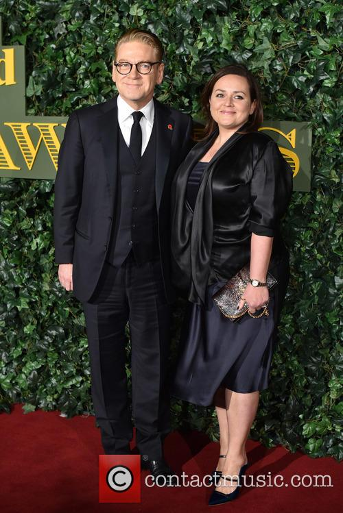 Kenneth Branagh and Lindsay Brunnock 1