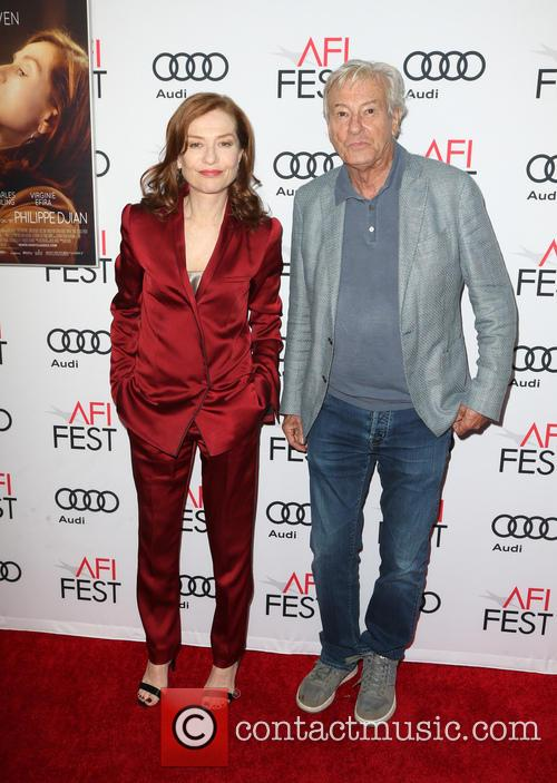 Isabelle Huppert and Paul Verhoeven