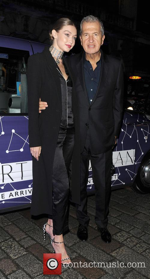 Gigi Hadid and Mario Testino 4