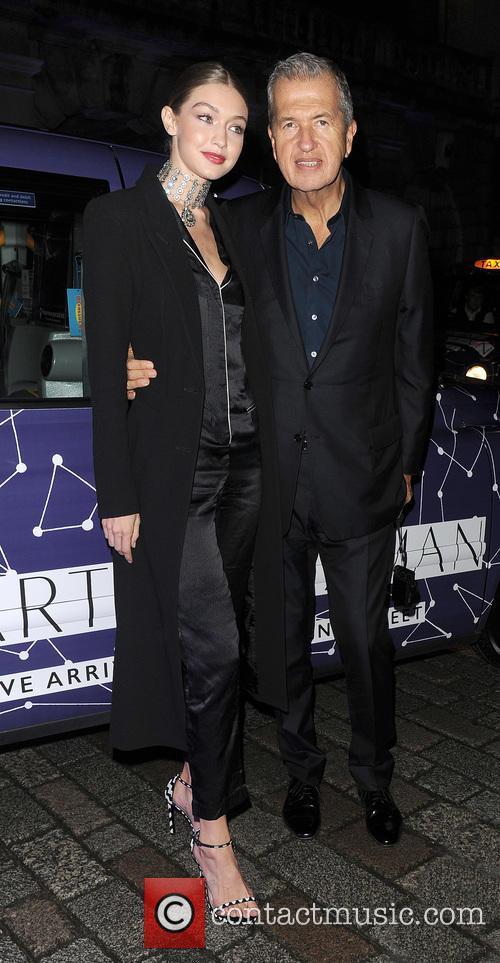 Gigi Hadid and Mario Testino 5