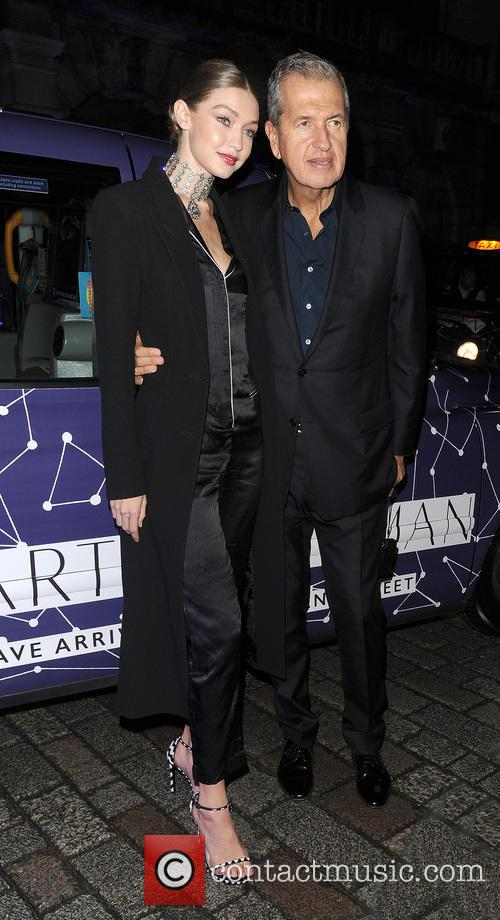 Gigi Hadid and Mario Testino 7