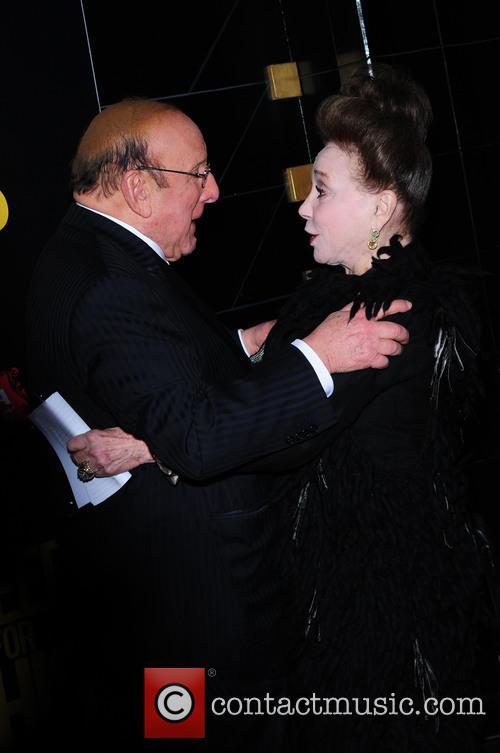 Clive Davis and Cindy Adams 1