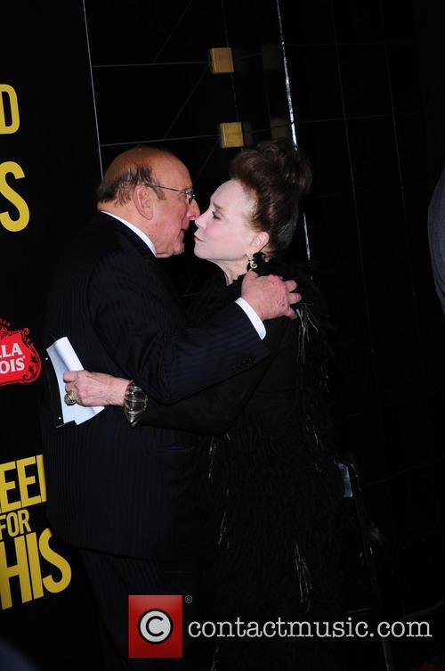 Clive Davis and Cindy Adams 2