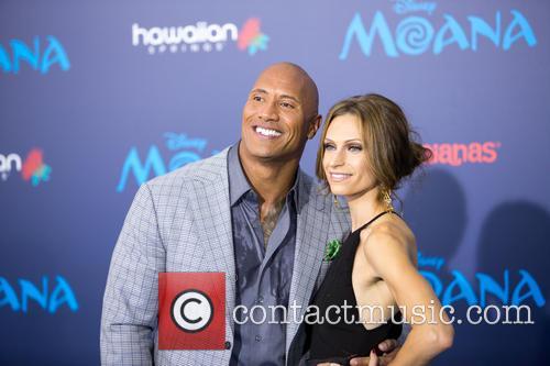 Dwayne Johnson and Lauren Hashian 8