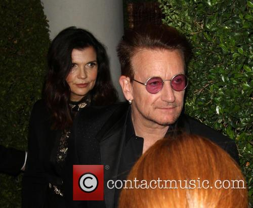 Bono and Wife Alison Hewson