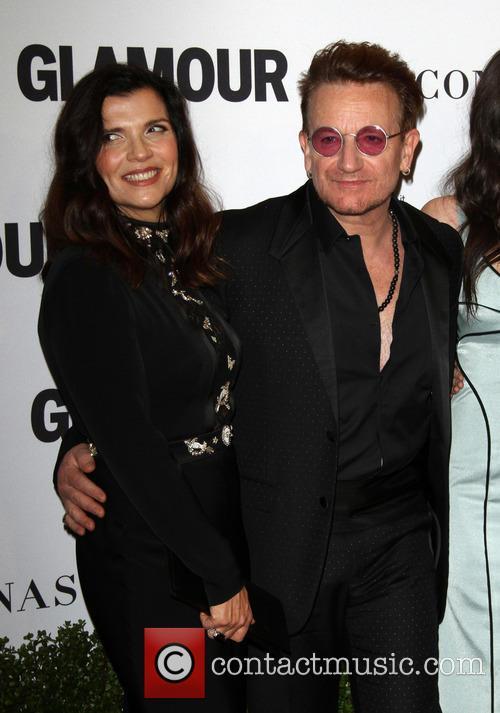 Bono and Wife Alison Hewson 2