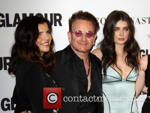 Bono, Wife Alison Hewson and Daughter Eve Hewson 4