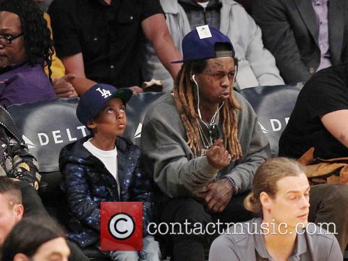 Lil Wayne and Son 6