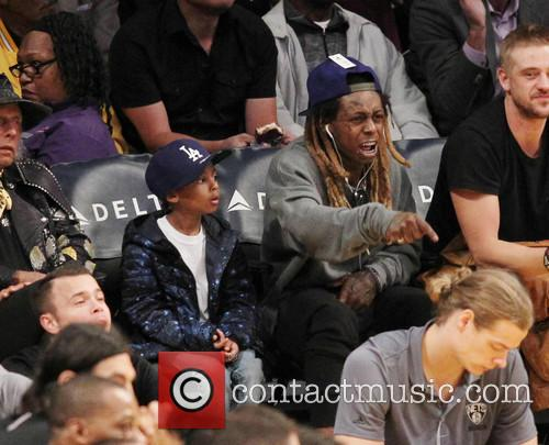 Lil Wayne and Son 11