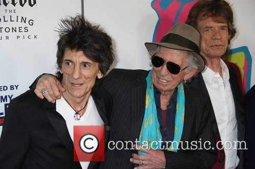 Mick Jagger, Keith Richards and Ronnie Wood 7
