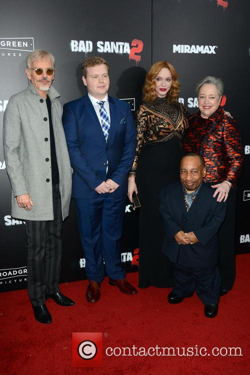 Billy Bob Thornton, Brett Kelly, Christina Hendricks, Kathy Bates and Tony Cox 1