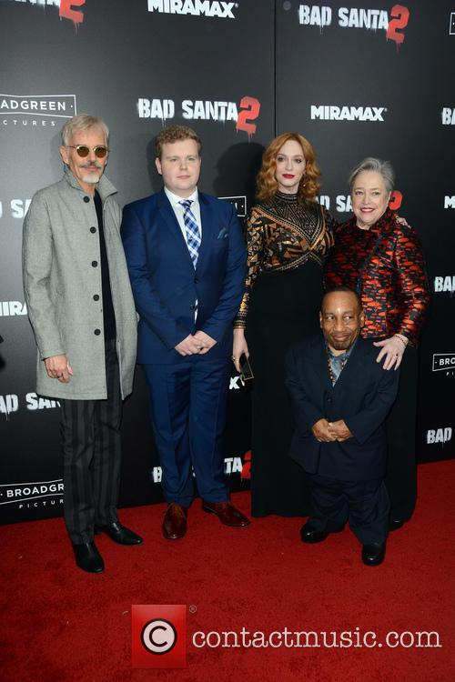 Billy Bob Thornton, Brett Kelly, Christina Hendricks, Kathy Bates and Tony Cox 2
