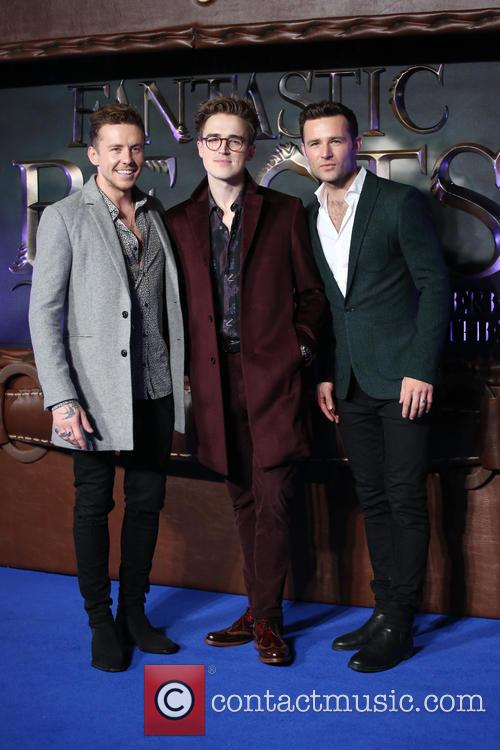 Danny Jones, Tom Fletcher, Harry Judd and Mcfly 1