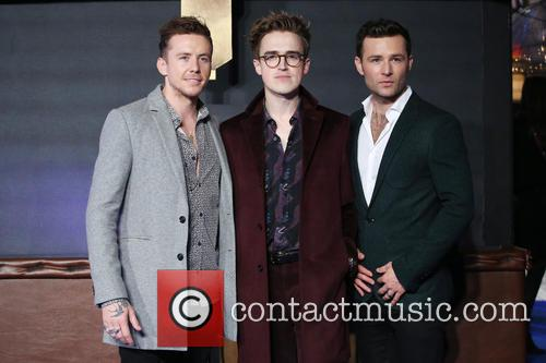 Danny Jones, Tom Fletcher, Harry Judd and Mcfly 2