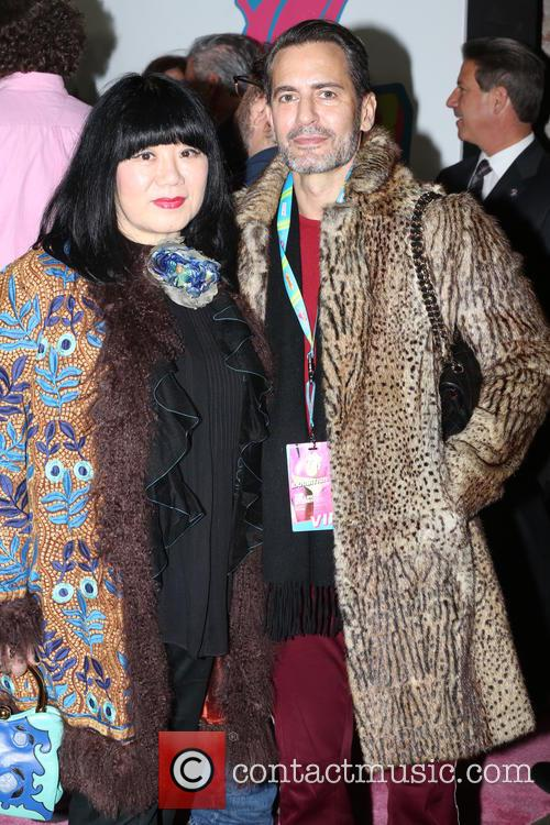 Anna Sui and Marc Jacobs