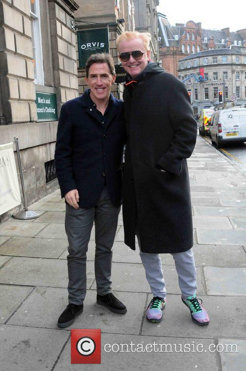 Chris Evans and Rob Brydon 4