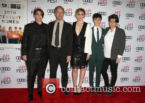 Billy Crudup, Mike Mills, Annette Bening, Greta Gerwig and Lucas Jade Zumann