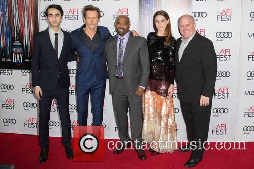 Alex Wolff, Kevin Bacon, Michael Beach, Michelle Monaghan and James Dumont