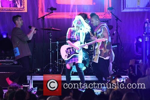 Joe Jonas and Dnce 3