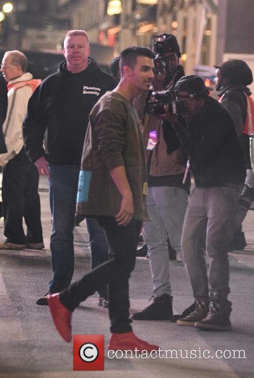 Joe Jonas and Dnce 8