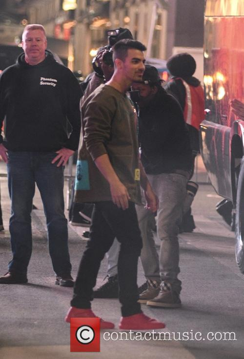 Joe Jonas and Dnce 9