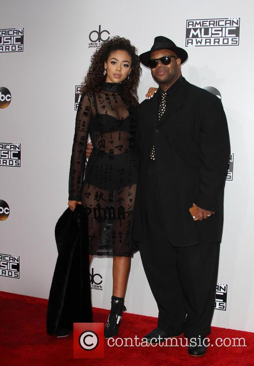 Bella Harris and Jimmy Jam