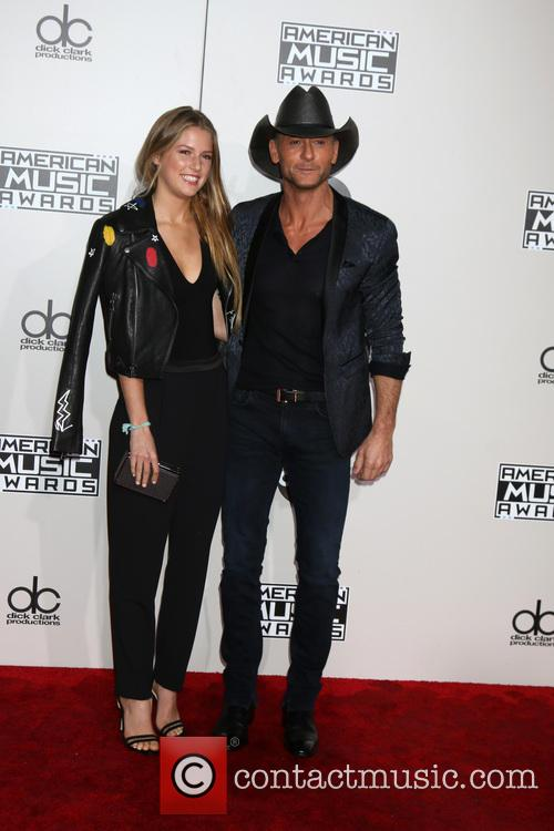 Maggie Elizabeth Mcgraw and Tim Mcgraw 1