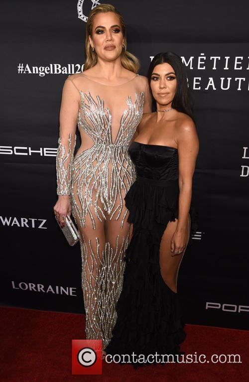 Khloe Kardashian and Kourtney Kardashian 9