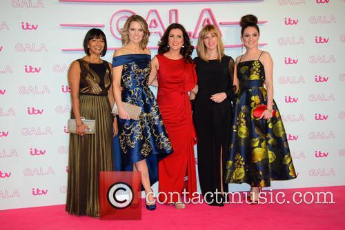 Ranvir Singh, Charlotte Hawkins, Susanna Reid, Kate Garraway and Laura Tobin 2
