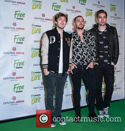 Busted, Matt Willis, James Bourne and Charlie Simpson