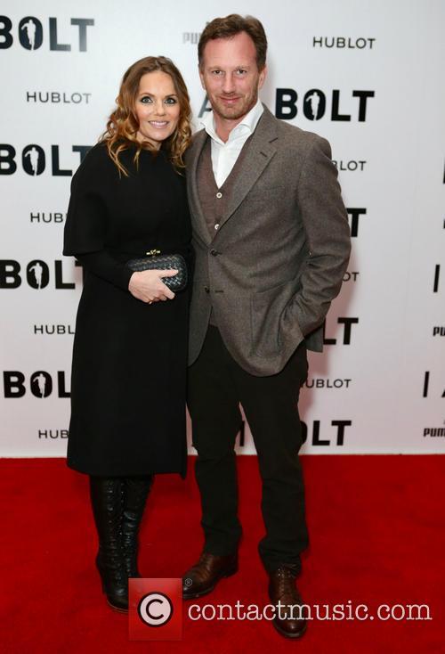Geri Halliwell and Christian Horner 1
