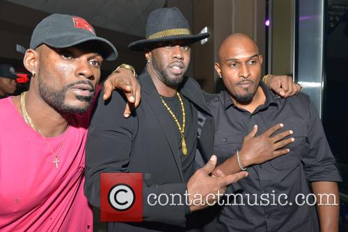 Dj Steve J, Sean 'diddy' Combs and Michael Gardner 1
