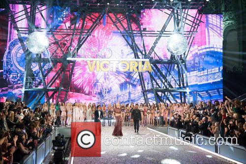 Victoria's Secret Models, Lady Gaga, Bruno Mars and The Weeknd