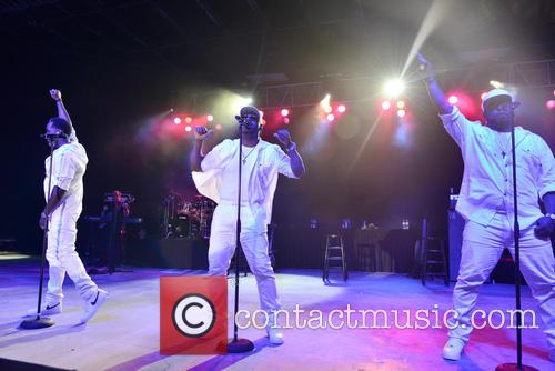 Boyz Ii Men, Shawn Stockman, Nathan Morris and Wanya Morris