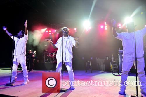 Boyz Ii Men, Shawn Stockman, Nathan Morris and Wanya Morris 2