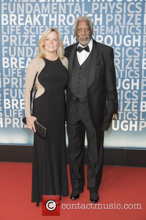 Linda Keena and Morgan Freeman 1
