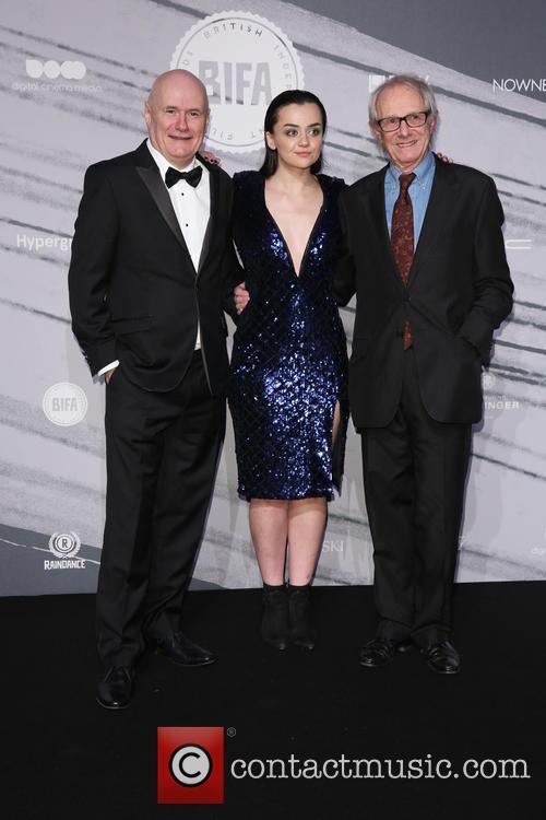 Daniel Johns, Hayley Squires and Ken Loach
