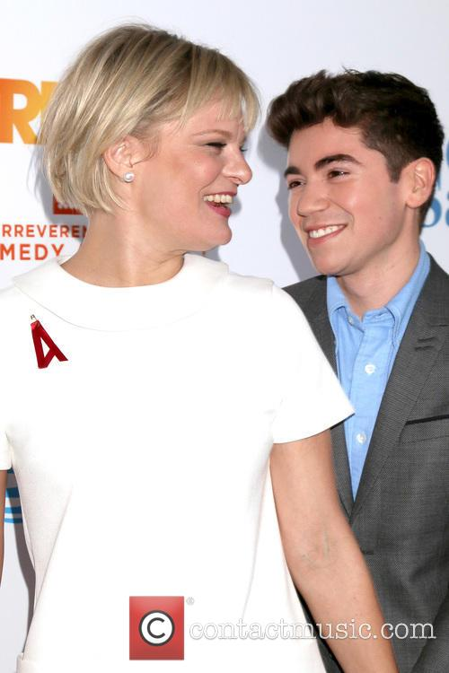 Martha Plimpton and Noah Galvin