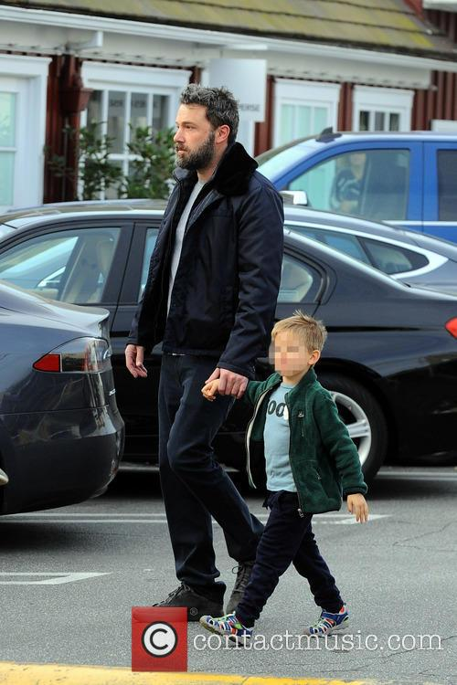 Ben Affleck and Samuel Garner Affleck 1