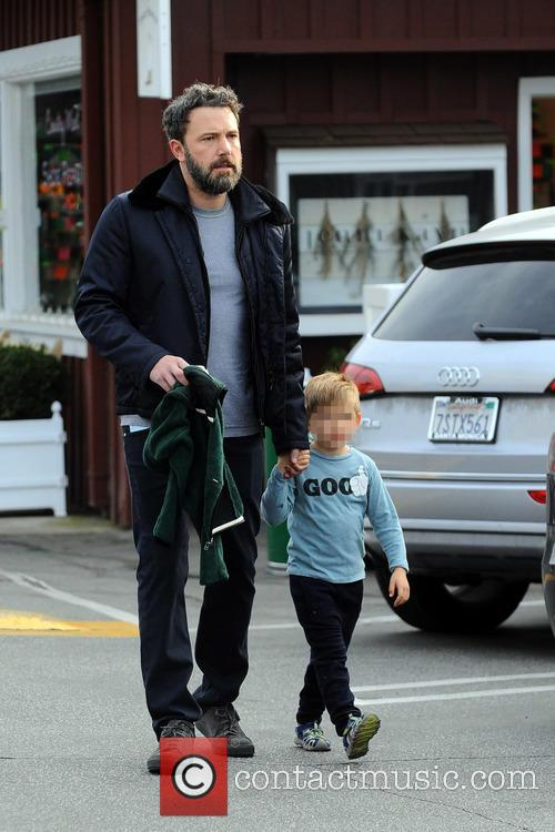 Ben Affleck and Samuel Garner Affleck 3