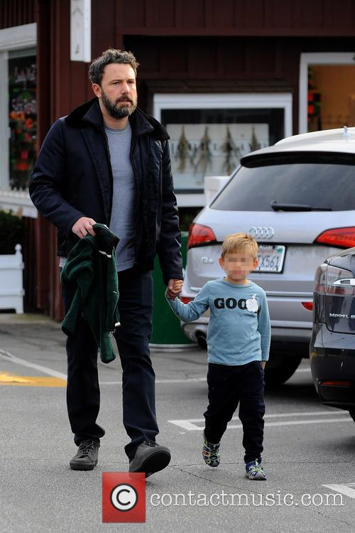 Ben Affleck and Samuel Garner Affleck 5