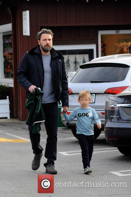 Ben Affleck and Samuel Garner Affleck 6