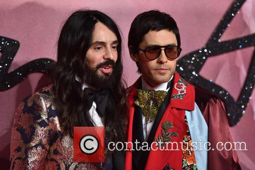 Alessandro Michele and Jared Leto