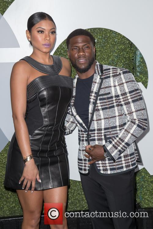 Kevin Hart and Eniko Parrish 1