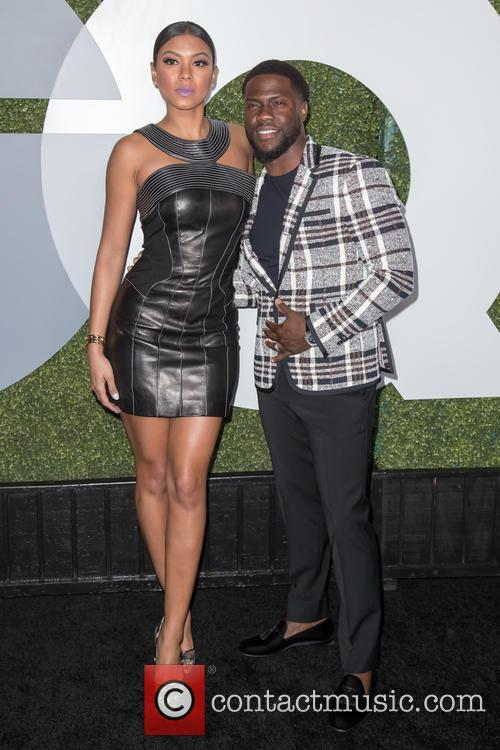 Kevin Hart and Eniko Parrish 2