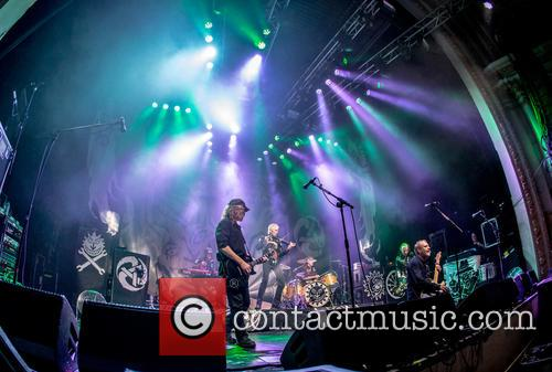 The Levellers, Mark Chadwick and Simon Friend 1