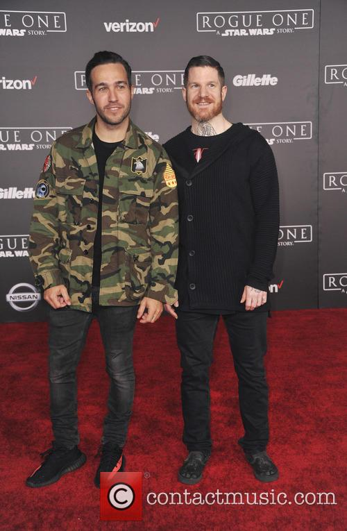 Pete Wentz and Andrew Hurley