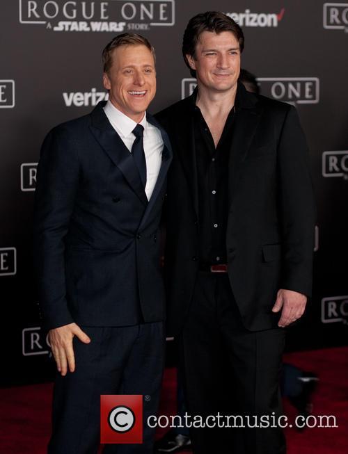 Alan Tudyk and Nathan Fillion 2