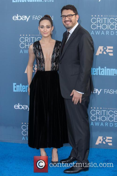Emmy Rossum and Sam Esmail 6