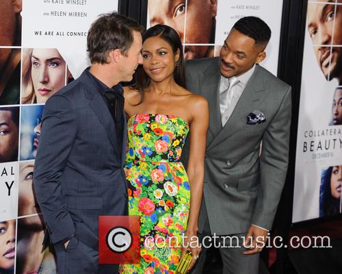 Edward Norton, Naomie Harris and Will Smith 1